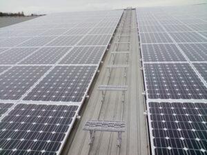 Montage von Solaranlage und Photovoltaik