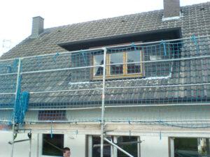 Dach vor der Sanierung